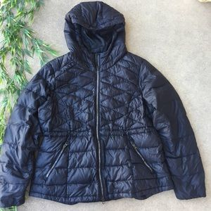Athleta Quilted Down Fill Hooded Coat - NWOT